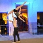 Duo Armonja Highlights in der Therme Akrobatik