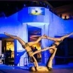 Golden Trio Akrobatik in der Therme Highlights
