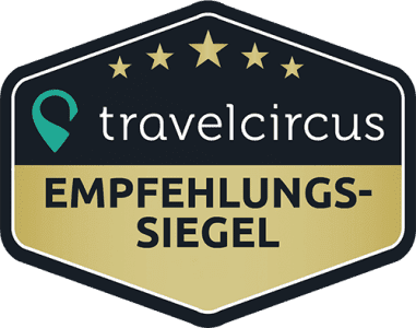 travelcircus - Empfehlungs-Siegel